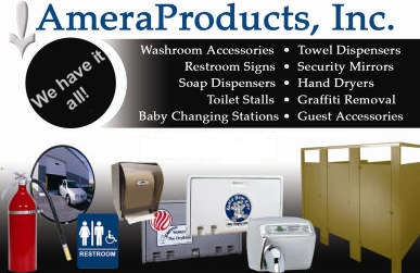 commercial bathroom accessories, washroom equipment, toilet stalls